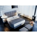 Łóżko do sypialni tapicerowane Trend - JMB