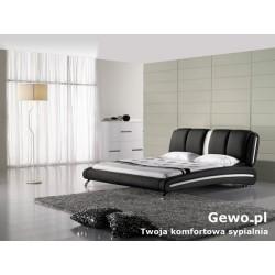 Łóżko tapicerowane do sypialni Gewo 160 180x200 cm