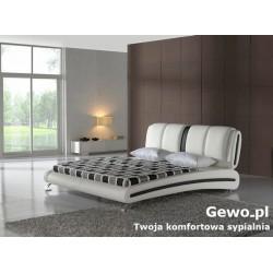 Łóżko tapicerowane do sypialni Gewo 160 200x200 cm