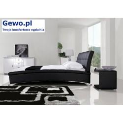 Łóżko tapicerowane do sypialni Gewo 176 90x200 cm