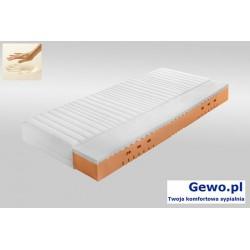 Materac Lucca H2/H3 160x200 cm ATM piankowy, lateksowy, termoelastyczny + Mega Gratisy