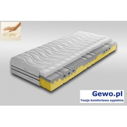 Materac Garda Visco H2/H3 100x200 cm ATM piankowy, lateksowy, termoelastyczny + Mega Gratisy