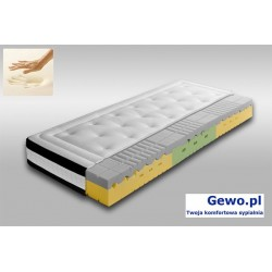 Materac Forte Visco Lux H2/H3 90x200 cm ATM piankowy wysokoelastyczny + Mega Gratisy