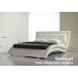 Łóżko tapicerowane do sypialni Gewo 158 120x200 cm