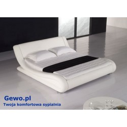 Łóżko tapicerowane do sypialni Gewo 155 120x200 cm