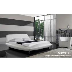 Łóżko tapicerowane do sypialni Gewo 169 120x200 cm