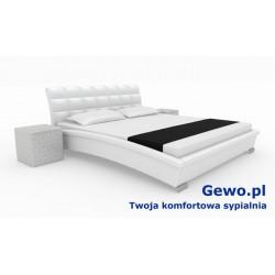 Łóżko tapicerowane do sypialni Gewo 122 120x200 cm