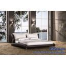 Łóżko do sypialni tapicerowane Angel