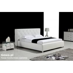 Łóżko tapicerowane do sypialni Gewo 168 180x200 cm