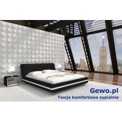 Łóżko tapicerowane do sypialni Gewo 175 100x200 cm