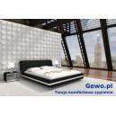 Łóżko tapicerowane do sypialni Gewo 175 180x200 cm