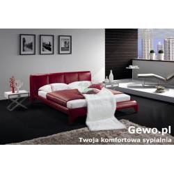 Łóżko tapicerowane do sypialni Gewo 185 180x200 cm