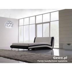 Łóżko tapicerowane do sypialni Gewo 193 100x200 cm