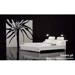 Łóżko tapicerowane do sypiani Gewo 115