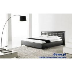 Łóżko tapicerowane do sypialni Gewo 188 100x200 cm