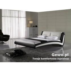 Łóżko tapicerowane do sypialni Gewo 190 100x200 cm