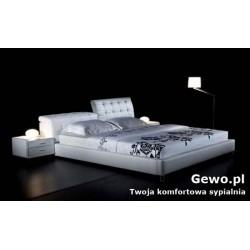 Łóżko tapicerowane do sypialni Gewo 196 180x200 cm
