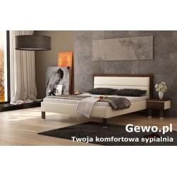 Łóżko tapicerowane do sypialni Gewo 199 100x200 cm