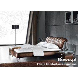 Łóżko tapicerowane do sypialni Gewo 205 180x200 cm