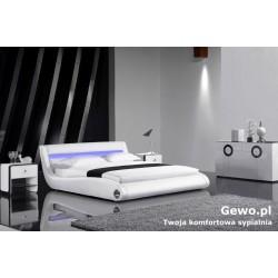Łóżko tapicerowane do sypialni Gewo 133