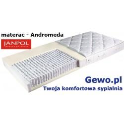 Materac Andromeda Janpol 80x200 cm + Mega Gratisy