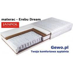 Materac Erebu Dream Janpol kieszeniowy dwustronny