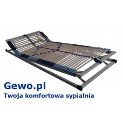 Stelaż do łóżka z drewna gewo trioflex kf
