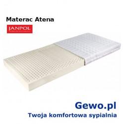 Materac Atena 160x200 cm Janpol lateksowy rehabilitacyjny + Mega Gratisy