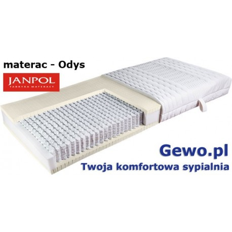 Materac Odys Janpol kieszeniowy + Mega Gratisy