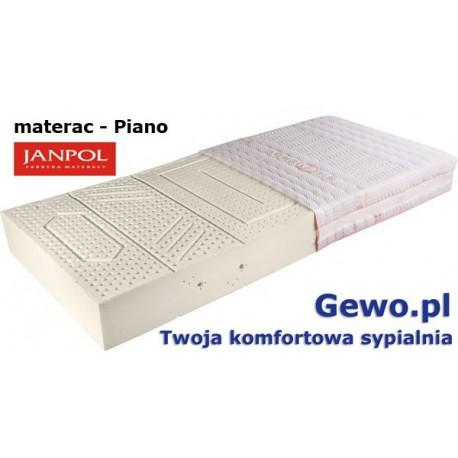 Materac Janpol Piano lateksowy + Mega Gratisy