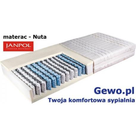 Materac Janpol Nuta kieszeniowo-lateksowy + Mega Gratisy