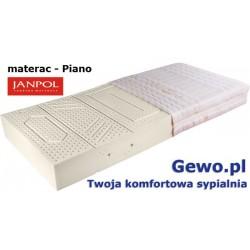 Materac Janpol Piano 140x200 cm lateksowy + Mega Gratisy