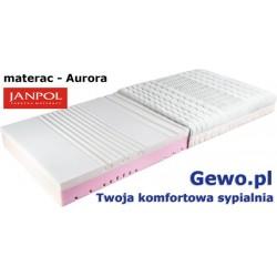 Materac Janpol Aurora 90x200 cm piankowy termoelastyczny + Mega Gratisy