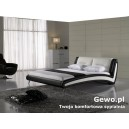 Łóżko tapicerowane do sypialni Gewo 190