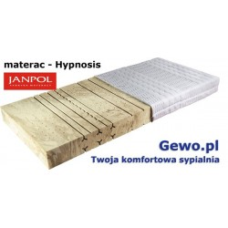 Materac Hypnosis 80x200 cm Janpol piankowy + Mega Gratisy