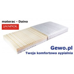Materac Daino 120x200 cm Janpol piankowy + Mega Gratisy