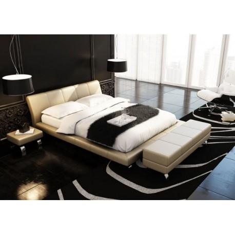 łóżko Do Sypialni 140x200 Tapicerowane Supra Jmb