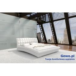 Łóżko tapicerowane do sypialni Gewo 105 200x200 cm