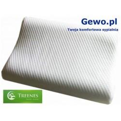 Poduszka do spania Treenes Silver Duo 30x50 cm- ortopedyczna antyalergiczna