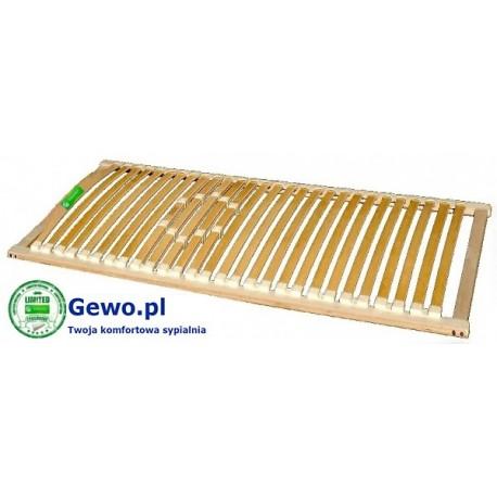 Stelaż Do łóżka Treenes Natural Ii 90x200 Cm Z Drewna Bukowego