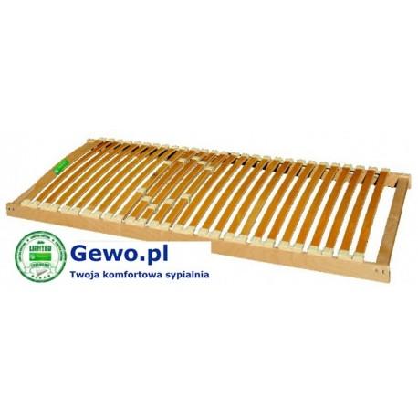 Stelaż do łóżka Treenes Natural 120x200 cm z drewna bukowego