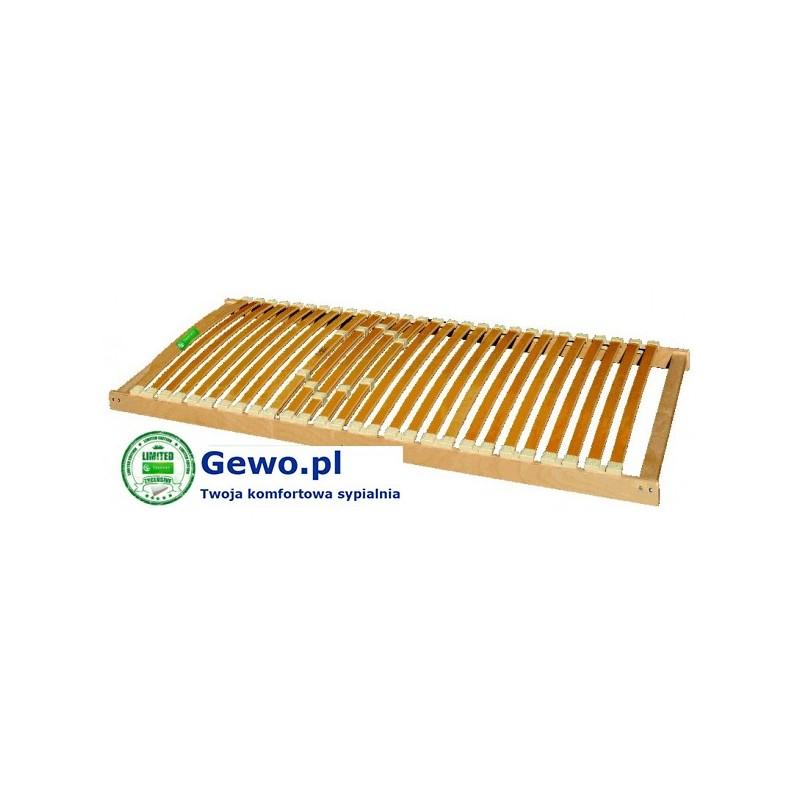 Stelaż Do łóżka Treenes Natural 100x200 Cm Z Drewna Bukowego