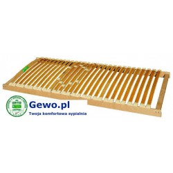Stelaż do łóżka Treenes Natural 200x200 cm z drewna bukowego