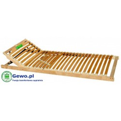 Stelaż do łóżka Treenes Simple 70x200 cm z drewna bukowego