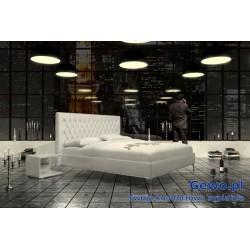 Łóżko tapicerowane do sypialni Gewo 106 200x200 cm
