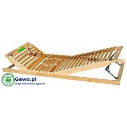Stelaż do łóżka Treenes Duo 80x200 cm z drewna bukowego