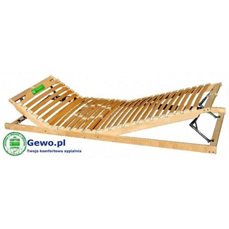 Stelaż Do łóżka Treenes Duo 90x200 Cm Z Drewna Bukowego