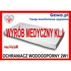 Materac Hevea Comfort H2 90x200 cm Lateksowy Antyalergiczny Rehabilitacyjny + Mega Gratisy