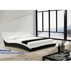 Łóżko tapicerowane do sypialni Gewo 120 160x200 cm
