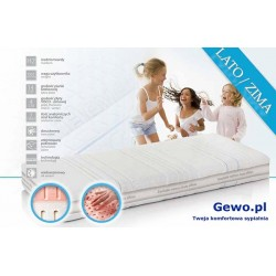 Materac Hevea Body Comfort 90x200 cm Lateksowy Antyalergiczny Rehabilitacyjny + Mega Gratisy